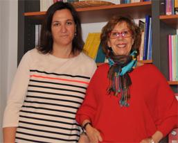 Marta Martínez Valencia y Sol Ugarte
