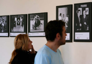 madrid,30-4-08.-exposicion de fotografias del archvo de abc en la plaza de toros de las ventas.-foto ernesto agudo.archdc